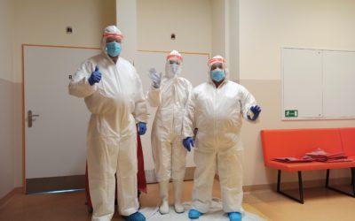 Pomoc v Karlovarské krajské nemocnici 15.3.-17.3.2021