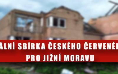 Materiální sbírka ČČK v Ostravě pro jižní Moravu